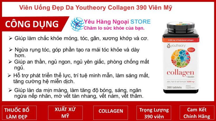 Collagen Youtheory Type 1, 2 & 3