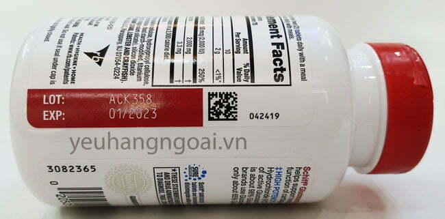Hình T6haatj Hạn Sử Dụng Schiff Glucosamine