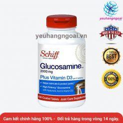 Schiff Glucosamine 2000mg Plus Vitamin D3