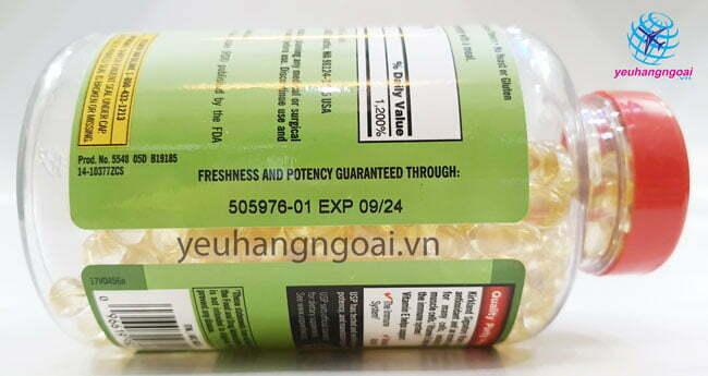 Hình Thật Hạn Sử Dụng Vitamin E 400 I.u