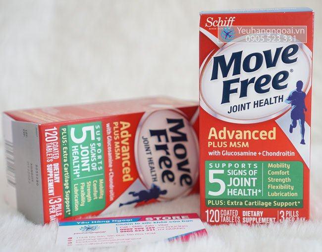Move Free 120v Glucosamine Chondroitin Msm (2)
