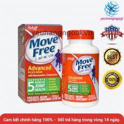 Thuốc Bổ Khớp Move Free 120v Glucosamine Chondroitin Msm
