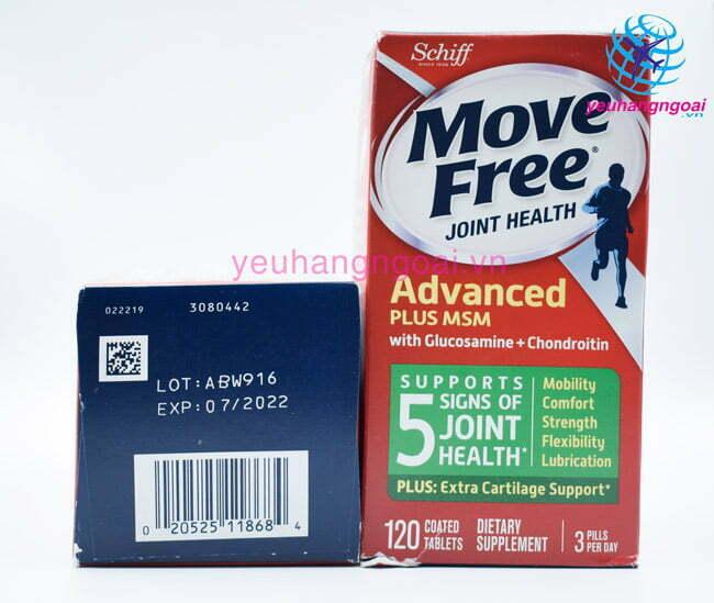 Thuốc Bổ Khớp Cao Cấp Move Free