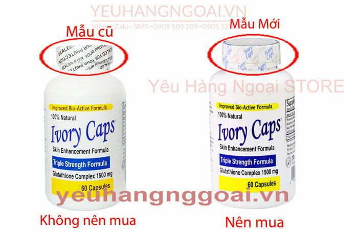 Mau Moi Va Cu Ivory Caps
