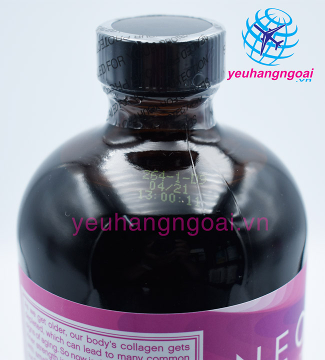 Hạn Sử Dụng Neocell Collagen +c Pomegranate Liquid 473ml Của Mỹ