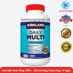 Daily Multi Kirkland 500 Viên