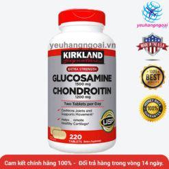 Glucosamine 1500mg Chondroitin 1200mg