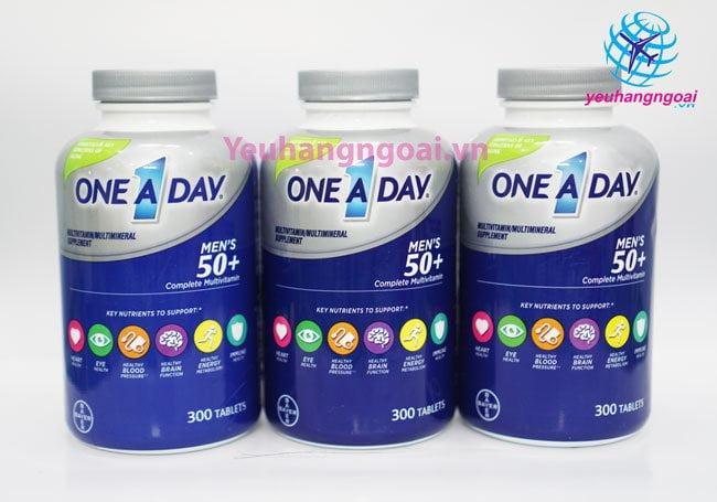 Hình Thật Vitamine One A Day 50+ Multi Vitamine Của Mỹ