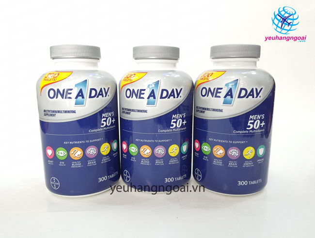 Hình Thật Vitamine One A Day 50+ Multi Vitamine Của Mỹ.