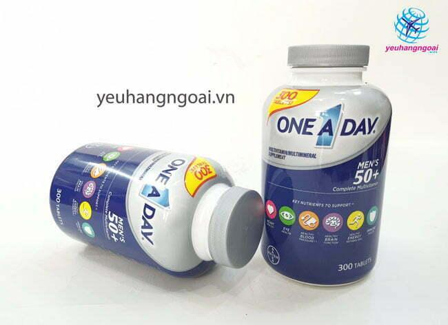Hình Thật Mặt Trước Vitamine One A Day 50+ Multi Vitamine Của Mỹ.