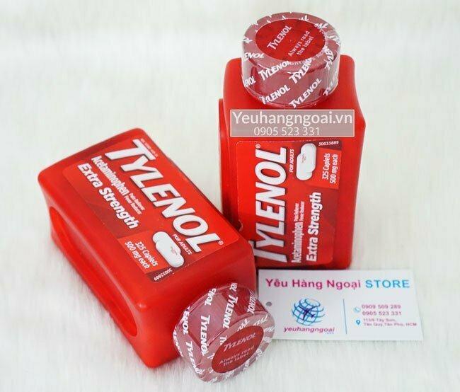 Tylenol Extra Strength With Acetaminophen 325 Viên
