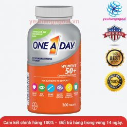 Vitamine One A Day 50+ Multi Vitamine Advantage Women Formula 300 Viên Của Mỹ