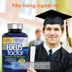 Focus Factor Nutrition For The Brain 180 Viên ( Mẫu Mới Nhất )