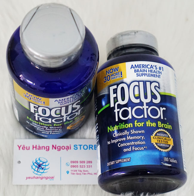 Hinh Thuoc Focus Factor Nutrition For The Brain 180 Viên