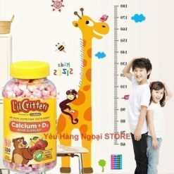 L'il Critters Calcium Gummy Bears with Vitamin D3
