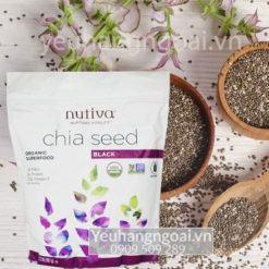 Hạt Chia Nutiva Organic Chính Hãng Của Mỹ