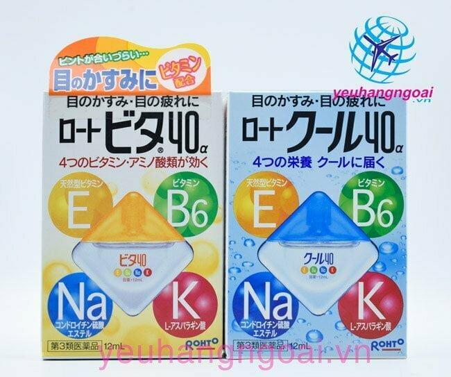 Thuốc Nhỏ Mắt Rohto 12ml Của Nhật Bản.