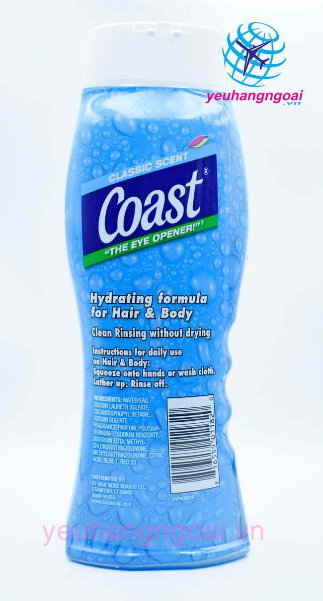 Hình Thật Sữa Tắm Gội Coast 532ml...