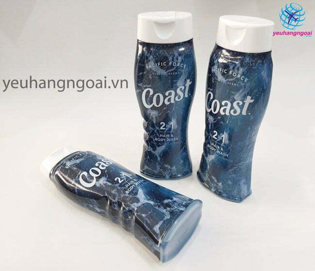 Hình Thật Sữa Tắm Gội Coast 532ml