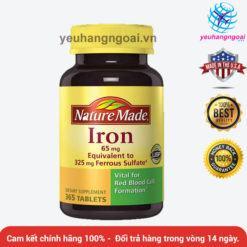 Viên Bổ Sung Chất Sắt Iron 65 Mg