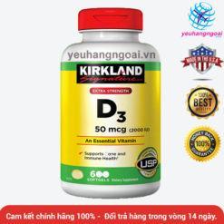 Vitamin D3 2000 Iu Kirkland
