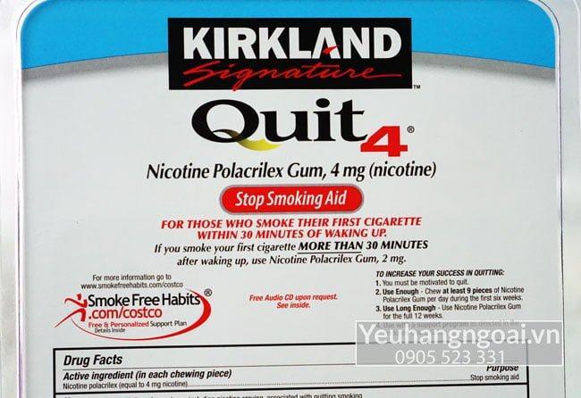 Kirkland Gum Quit2™ 4mg