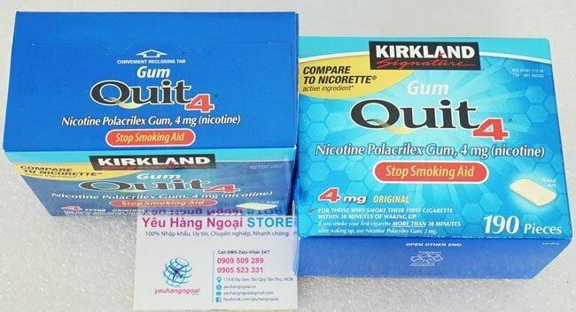 kirkland Gum Quit4™ 4mg