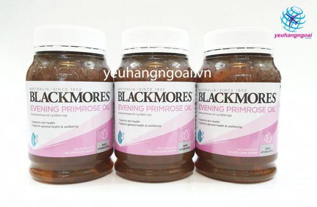 Hình Thật Blackmores Evening Primrose 190 Viên