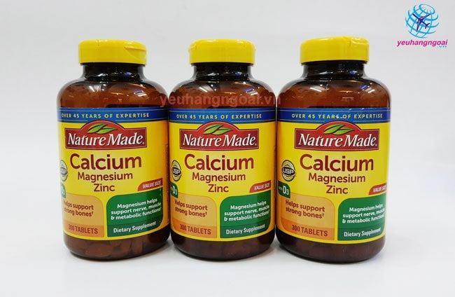Hình Calcium Magnesium Zinc With Vitamin D 300 Viên Của Mỹ