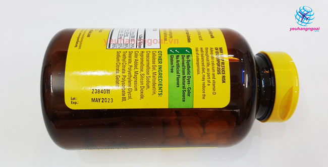 Hạn Sử Dụng Calcium Magnesium Zinc With Vitamin D 300 Viên Của Mỹ