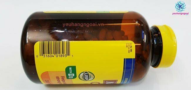 Mã Vạch Calcium Magnesium Zinc With Vitamin D 300 Viên Của Mỹ