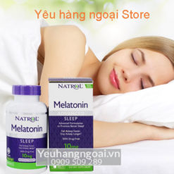 Thuốc Hỗ Trợ Mất Ngủ Melatonin 10mg Của Mỹ Giúp Ngủ Ngon Mỗi Ngày.