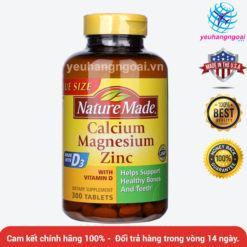 Canxi Calcium Magnesium Zinc With Vitamin D 300