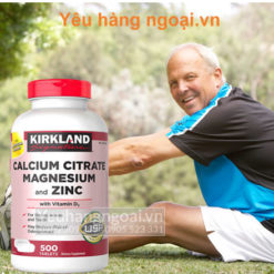 Calcium Citrate Magnesium and Zinc 500 viên