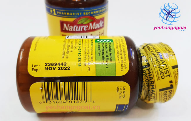 Hạn Sử Dụng Mã Vạch Viên Uống Bổ Sung Folic Acid 400mcg