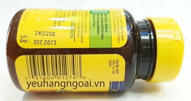 Hình Thật Mã Vạch Và Hạn Sử Dụng Viên Uống Bổ Sung Folic Acid 400mcg.