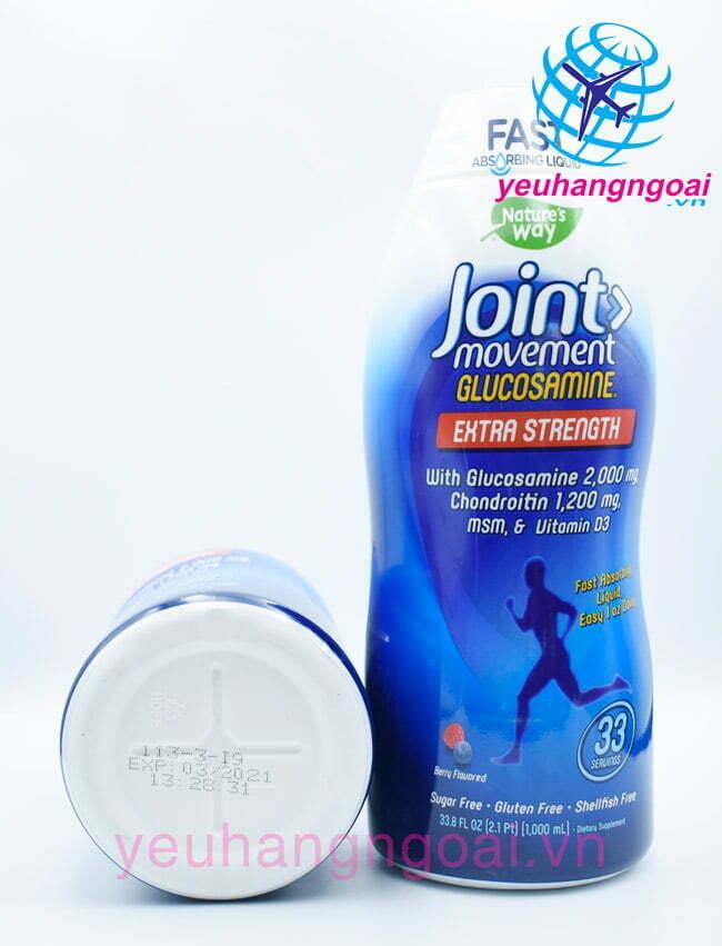Hình Thật Thuốc Bổ Khớp Joint Movement Glucosamin 1000ml ...