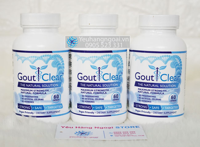 Gout Clear 60 viên của USA