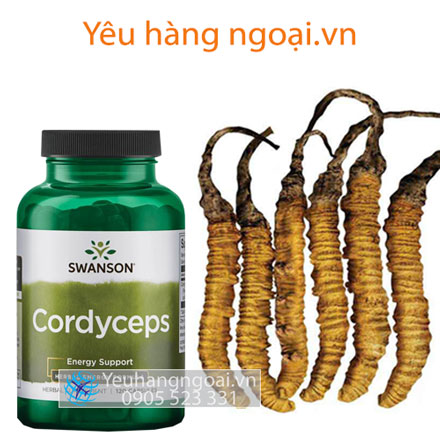 Đông Trùng Hạ Thảo Swanson Cordyceps
