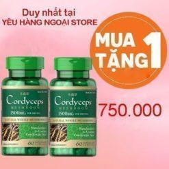 Cordyceps mushroom 1500mg