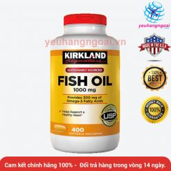 Fish Oil 1000mg Kirkland