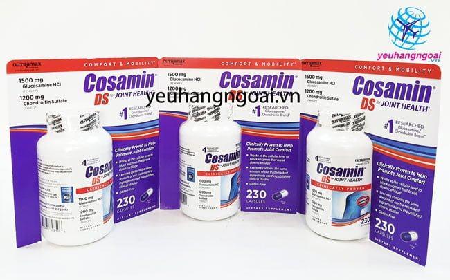 Hình Thật Cosamin Ds 230 Viên Tại Shop