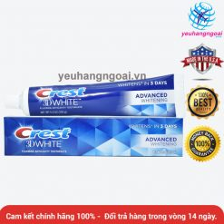 Crest 3d White Advanced Whitening 170g