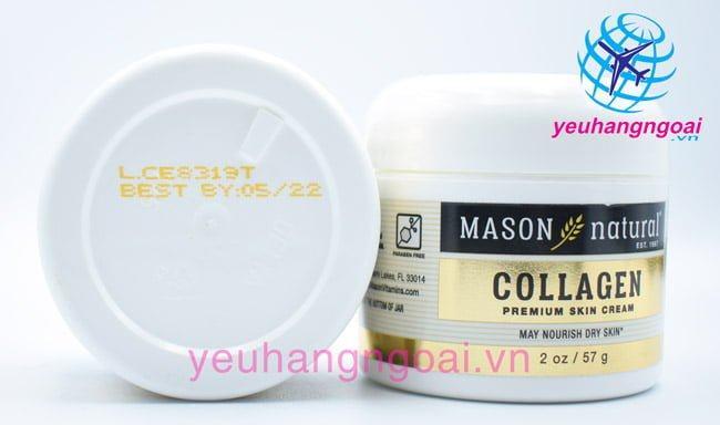 Kem Dưỡng Da, Chống Lão Hóa Collagen Beauty Mason Natural 57g Của