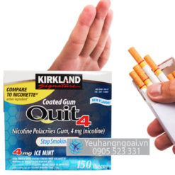 Kẹo-Cai-Thuốc-Lá-Quit-4-Kirkland-Signature--4mg-Nicotin-150-viên