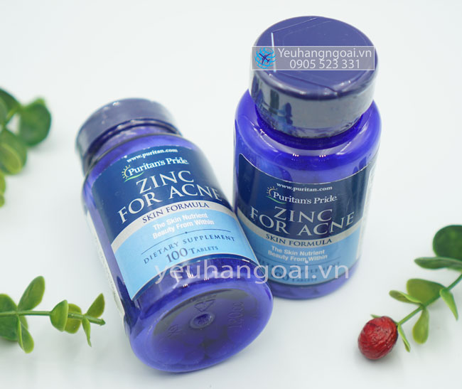 Zinc For Acne Tại Shop.