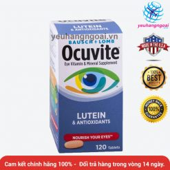 Ocuvite Bausch+lomb With Lutein & Antioxidants 120