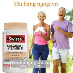Swisse Ultiboost Calcium & D3 90viên tại shop