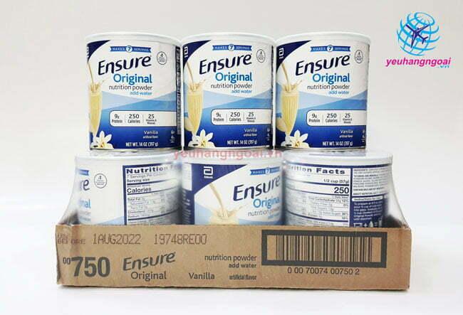 Hình 6 Hộp Sữa Bột Ensure 400g