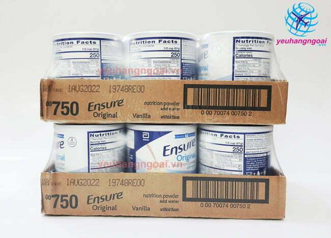 Hình Thật Sữa Bột Ensure 400g